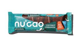 Nu+cao Riegel Kakao-Hanf Kokos Zimt 40g