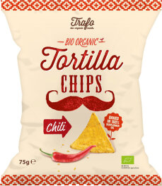 Trafo Tortilla Chips Chilli 75g