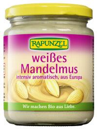 Rapunzel Weißes Mandelmus aus Europa Bio 250g