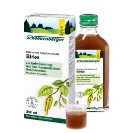 Schoenenberger® Birken-Saft 200ml