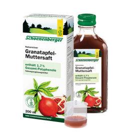 Schoenenberger® Granatapfel-Muttersaft 200ml