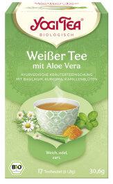 Yogi Tea Weißer Tee Aloe 17x 1,8g