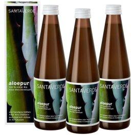 Santaverde Aloe Vera Saft Sparpack 3x 330ml