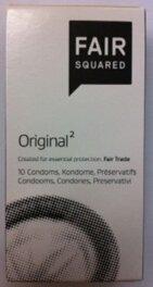 FAIR SQUARED Kondom Original 10Stück