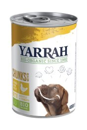 Yarrah Chunks Huhn with Nettle 405g
