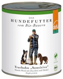 defu - Tierfutter Nassfutter Hund Truthahn 820g
