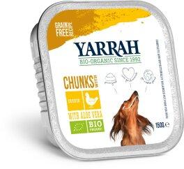 Yarrah Hund Bröckchen Huhn und Meeresalge 150 g