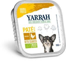 Yarrah Hund Paté Huhn mit Meeresalgen 150 g