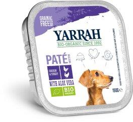 Yarrah Hund Paté Huhn & Truthahn mit Aloe 150 g