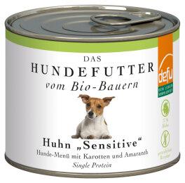 defu - Tierfutter Nassfutter Hund Huhn 200g