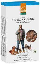defu - Tierfutter Hunde-Snack Huhn Carob 200g