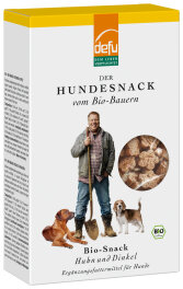 defu - Tierfutter Hunde-Snack Huhn Dinkel 200g