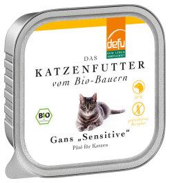 defu - Tierfutter Nassfutter Katze Gans 100g