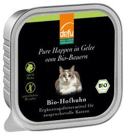 defu - Tierfutter Nassfutter Katze Hofhuhn 100g