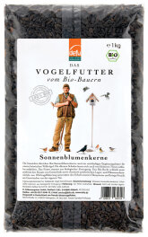 defu - Tierfutter Vogel Sonnenblumenkerne 1kg