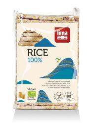 Lima Vollkorn-Reiswaffeln mit Salz eckig 130g