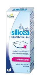 Hübner Silicea Lippenherpes Gel 2g