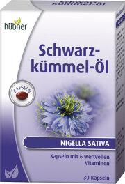 Hübner Schwarzkümmel-Öl Kapseln 0,05kg