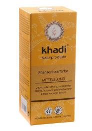 Khadi Haarfarbe Mittelblond 100g