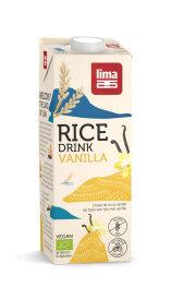 Lima Bio Reis Drink Vanille 1l