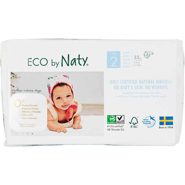 Eco by Naty Eco Windel Gr. 2 3-6kg