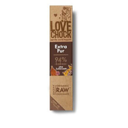 Lovechock Raw Chocolate Extra Pur 94% 40g
