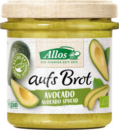 Allos Aufs Brot Avocado 140g