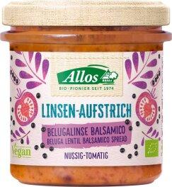 Allos Linsen-Aufstrich Balsamico 140g