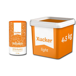Xucker� Erythrit light Zuckerersatz