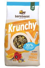 Barnhouse Krunchy Joy Mohn-Orange 375g