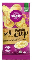 Davert Potato-Cup Röstzwiebel 54g