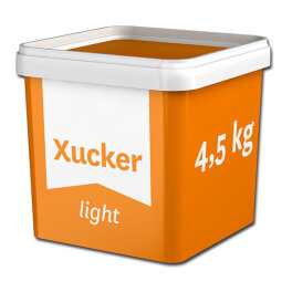 Xucker® Erythrit light Zuckerersatz 4,5kg