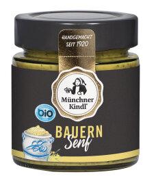 Münchner Kindl Bauern Senf 125ml Bio