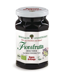 Rigoni di Asiago FiordiFrutta Holunder-Aufstrich 250g