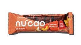 Nu+cao Bio Hanf-Kakao-Riegel Cashew Vanille 40g