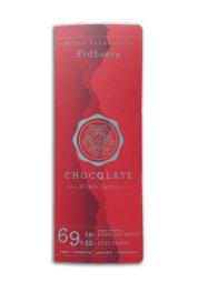 Chocqlate Bio Virgin Schokolade Erdbeer 70g