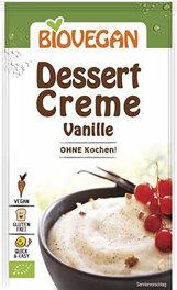 """Biovegan Dessertcreme """"ohne Kochen"""" Vanille 52g"""