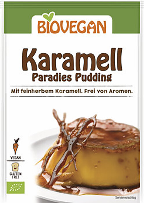 Biovegan Bio Karamell Paradies Pudding 43g