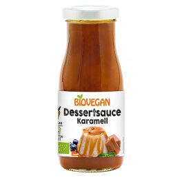 Biovegan Bio Dessert Soße Karamell 150g