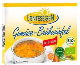 Erntesegen Gemüse-Brühwürfel Bio 66g