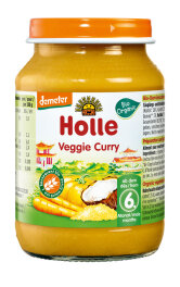 Holle Veggie Curry 190 g