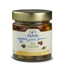 Mani Bläuel Bio Cocktail mediterran in Olivenöl...