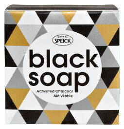 Made by Speick Black Soap mit Aktivkohle 100 g