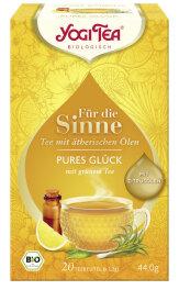 Yogi Tea Für die Sinne Pures Glück 20 Stk