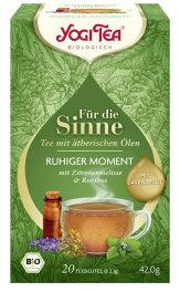 Yogi Tea Für die Sinne Ruhiger Moment 20 Stk