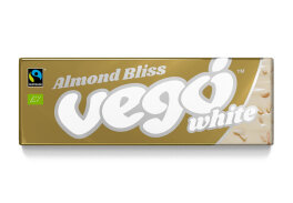 Vego Chocolate White Almond Bliss weiß mit Mandeln 50g