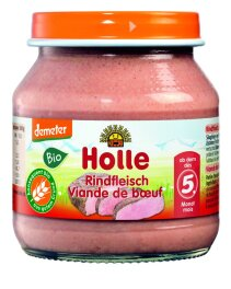 Holle Baby Food Rindfleisch 125g