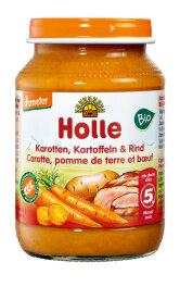 Holle Baby Food Karotten, Kartoffeln & Rind 190g