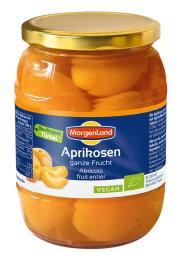 MorgenLand Süße Aprikosen,ganze Frucht 700g