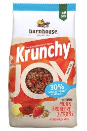 Barnhouse Krunchy Joy Mohn Erdbeere Zitrone 375 g